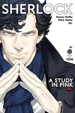 Sherlock: A Study in Pink No.1