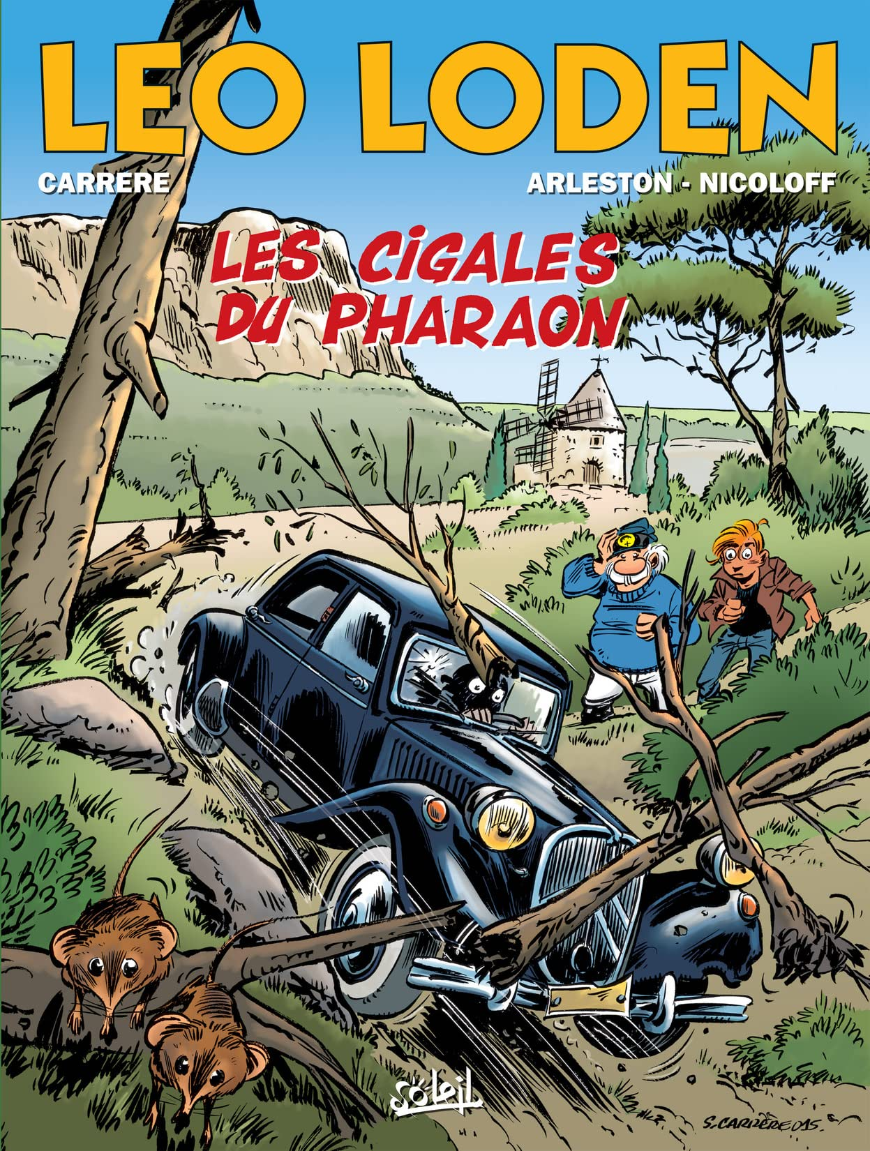 Léo Loden Vol. 24: Les Cigales du Pharaon