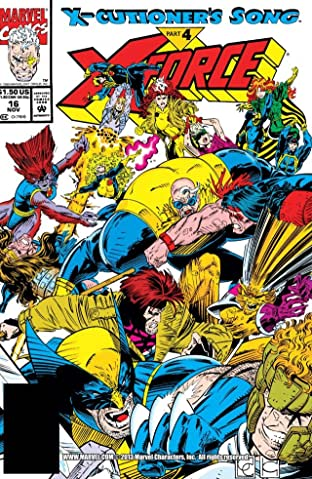 X-Force (1991-2002) No.16
