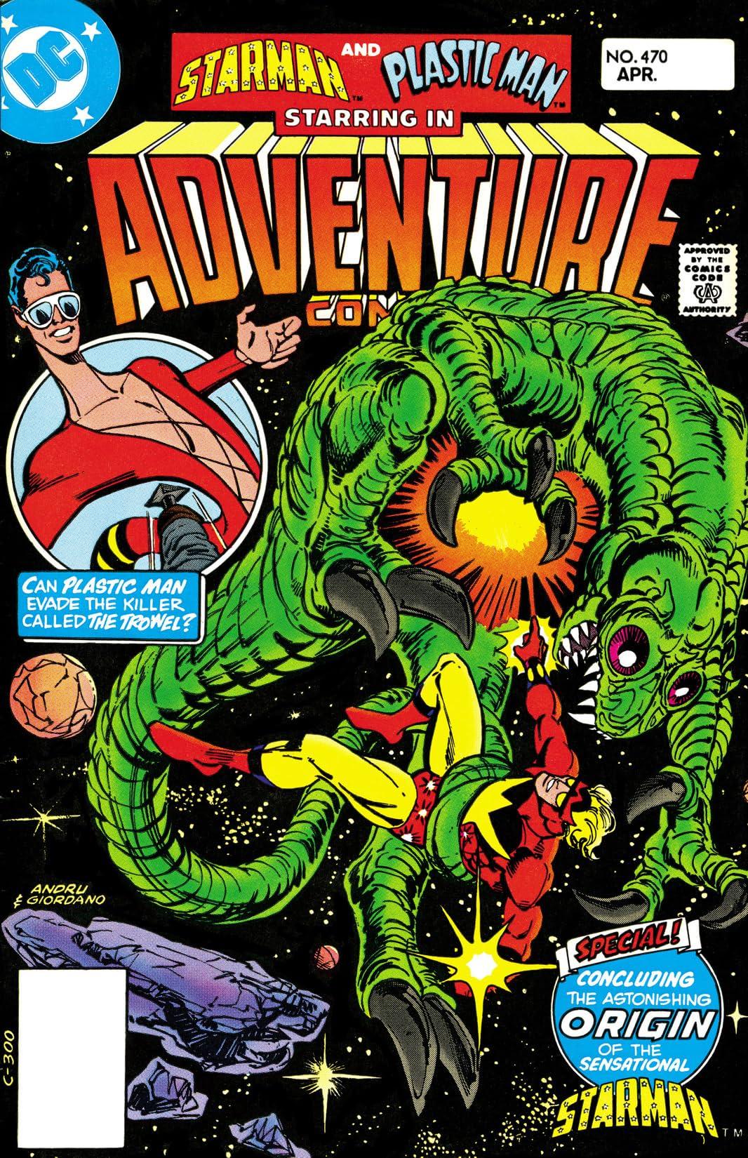 Adventure Comics (1935-1983) #470