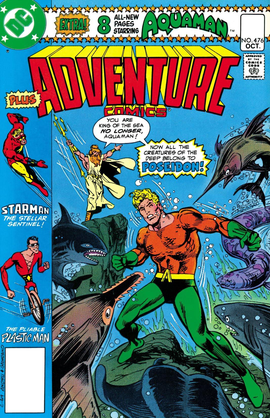 Adventure Comics (1935-1983) #476