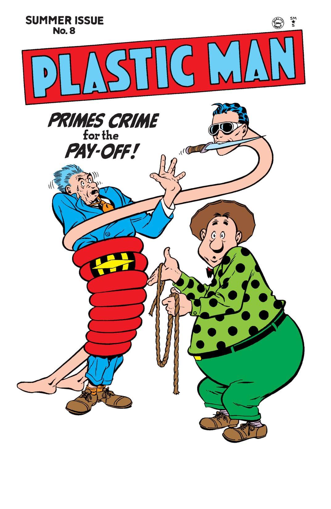 Plastic Man (1943-1956) #8