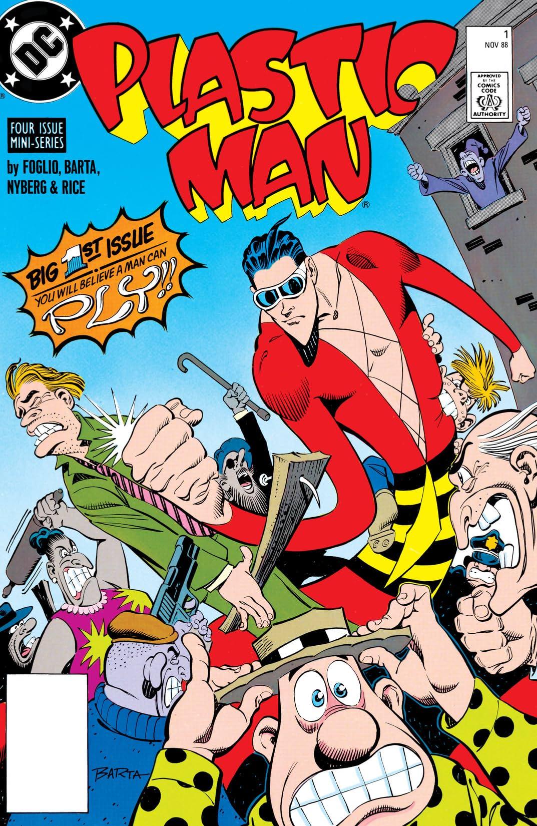 Plastic Man (1988-1989) #1