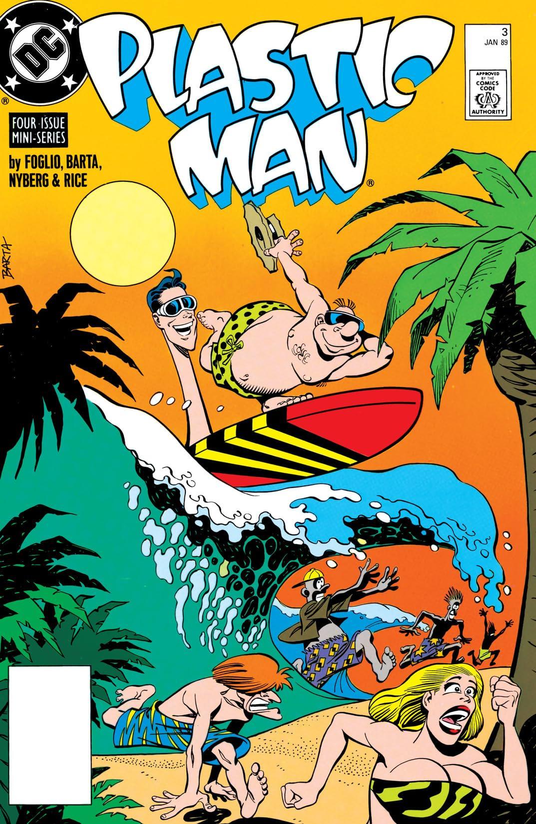Plastic Man (1988-1989) #3