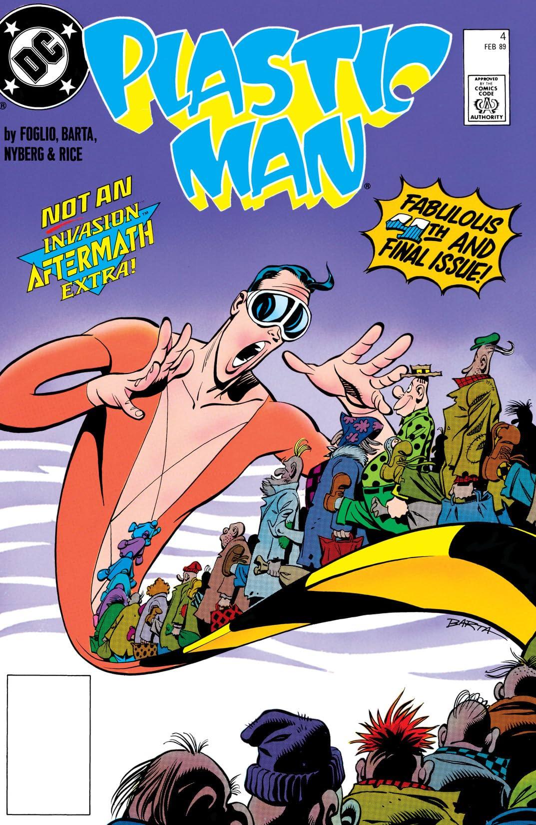 Plastic Man (1988-1989) #4