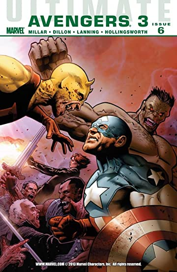 Ultimate Comics Avengers 3 #6 (of 6)