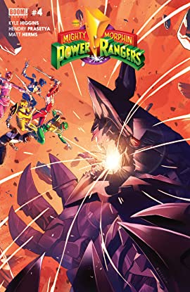Mighty Morphin Power Rangers #4