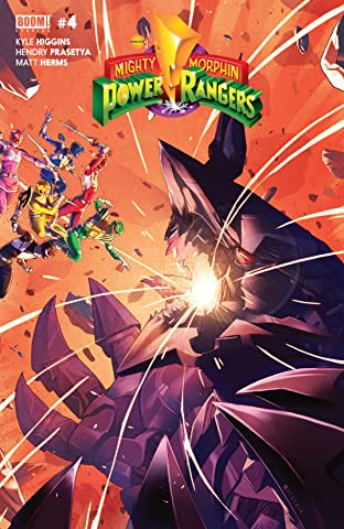 Mighty Morphin Power Rangers No.4