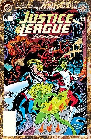 Justice League International Annual (1990) #5