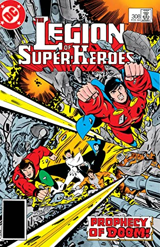 Legion of Super-Heroes (1980-1985) #308