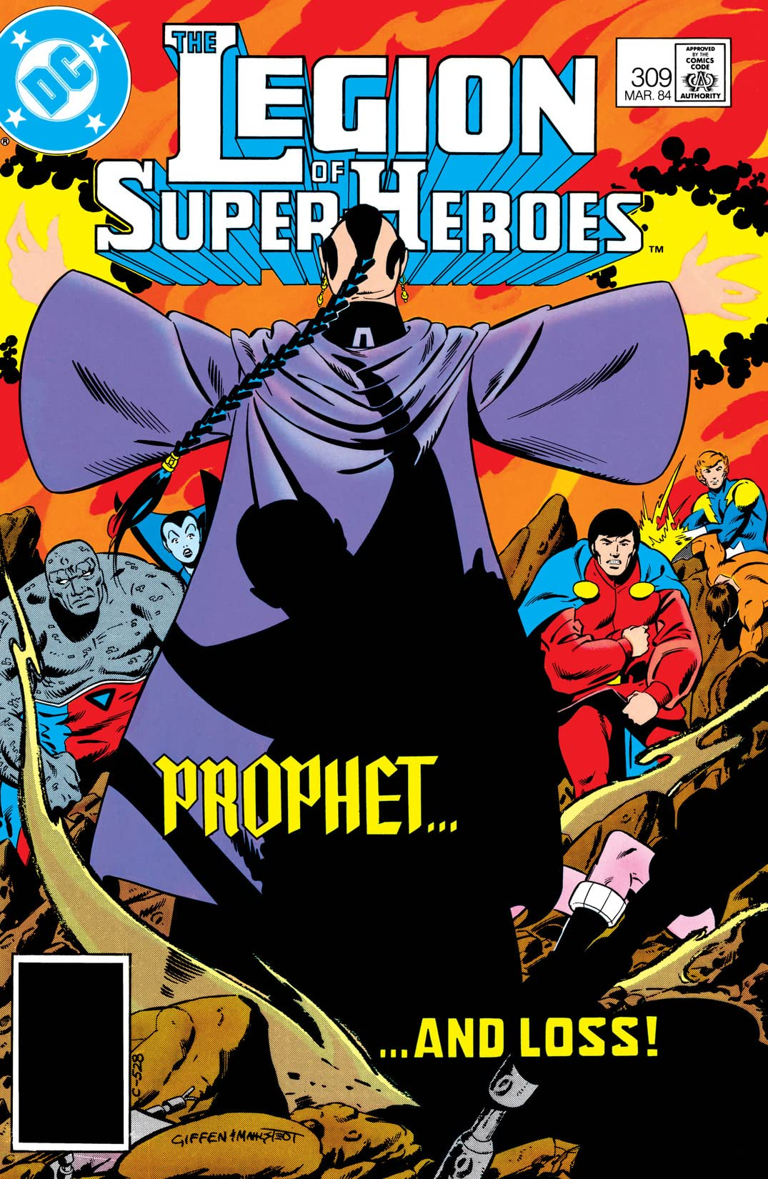 Legion of Super-Heroes (1980-1985) #309