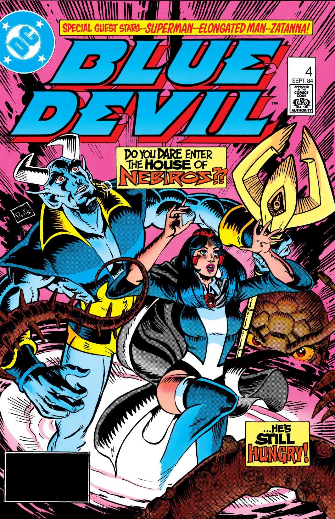 Blue Devil (1984-1986) #4