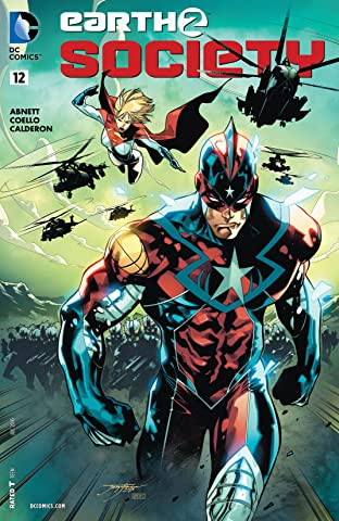 Earth 2: Society (2015-2017) #12