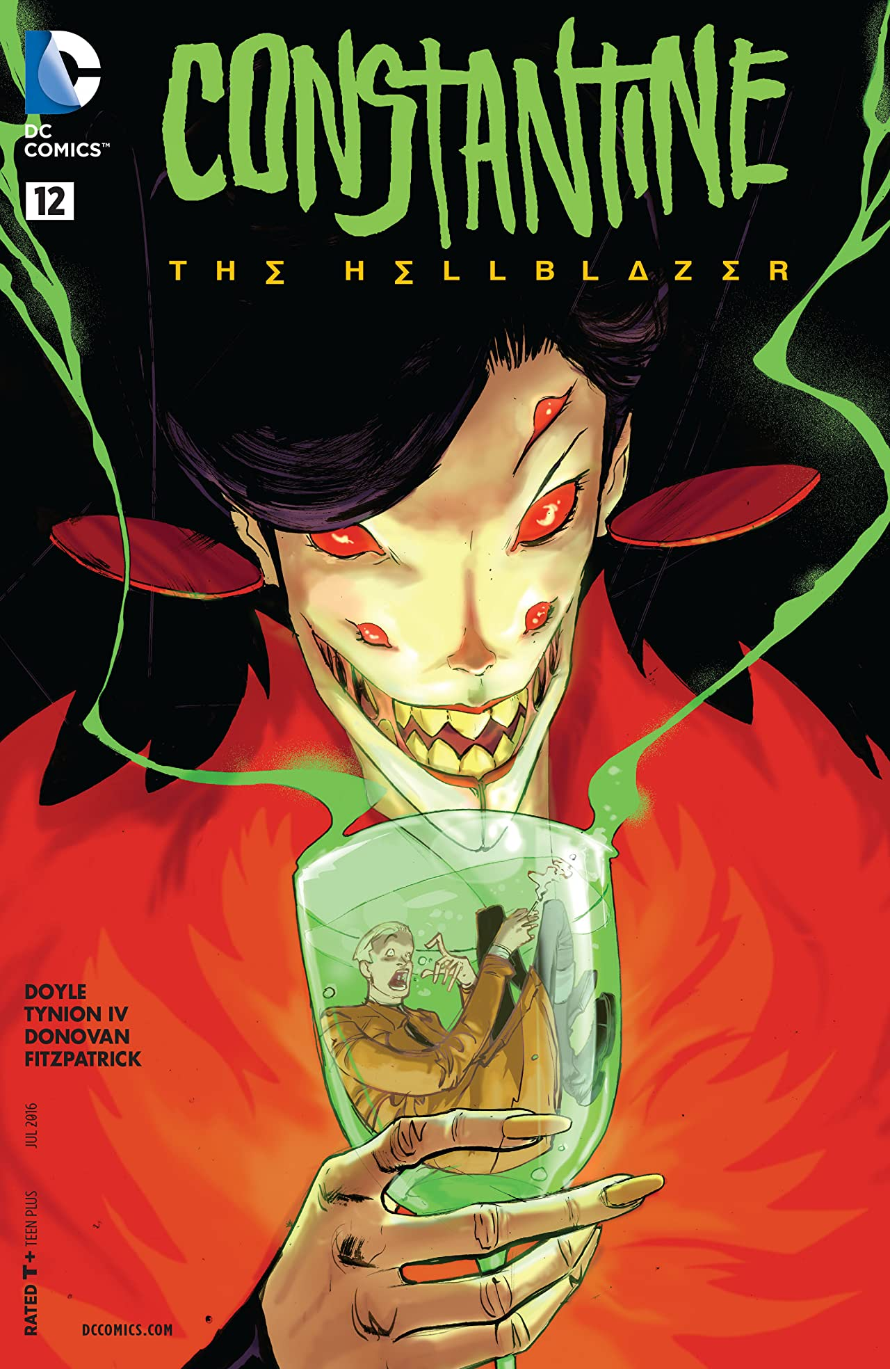 Constantine: The Hellblazer (2015-2016) #12