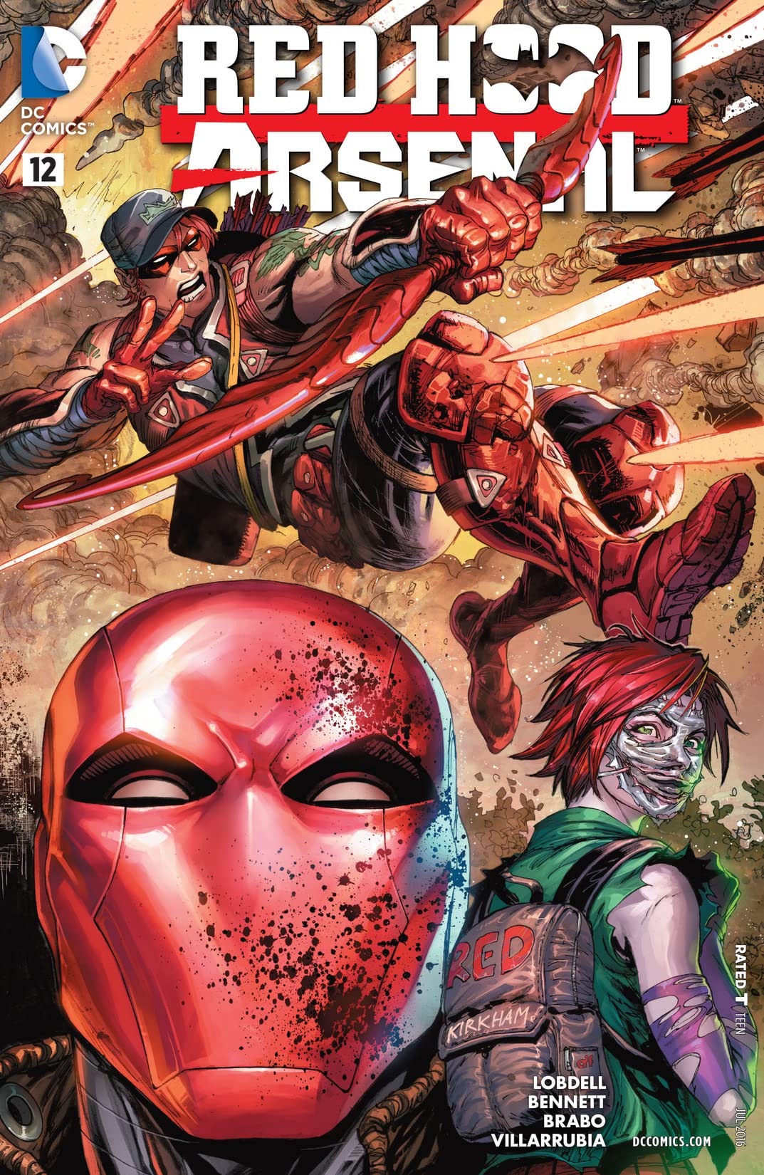 Red Hood/Arsenal (2015-2016) #12
