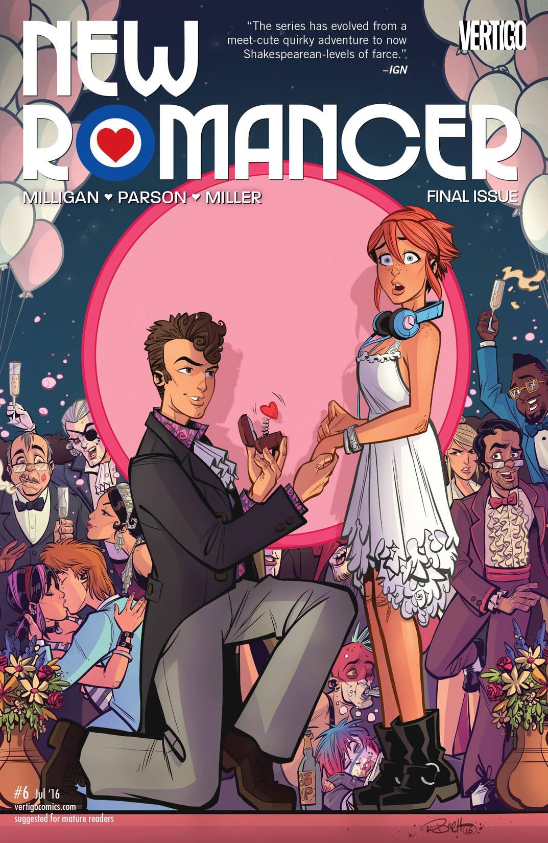 New Romancer (2015-2016) #6