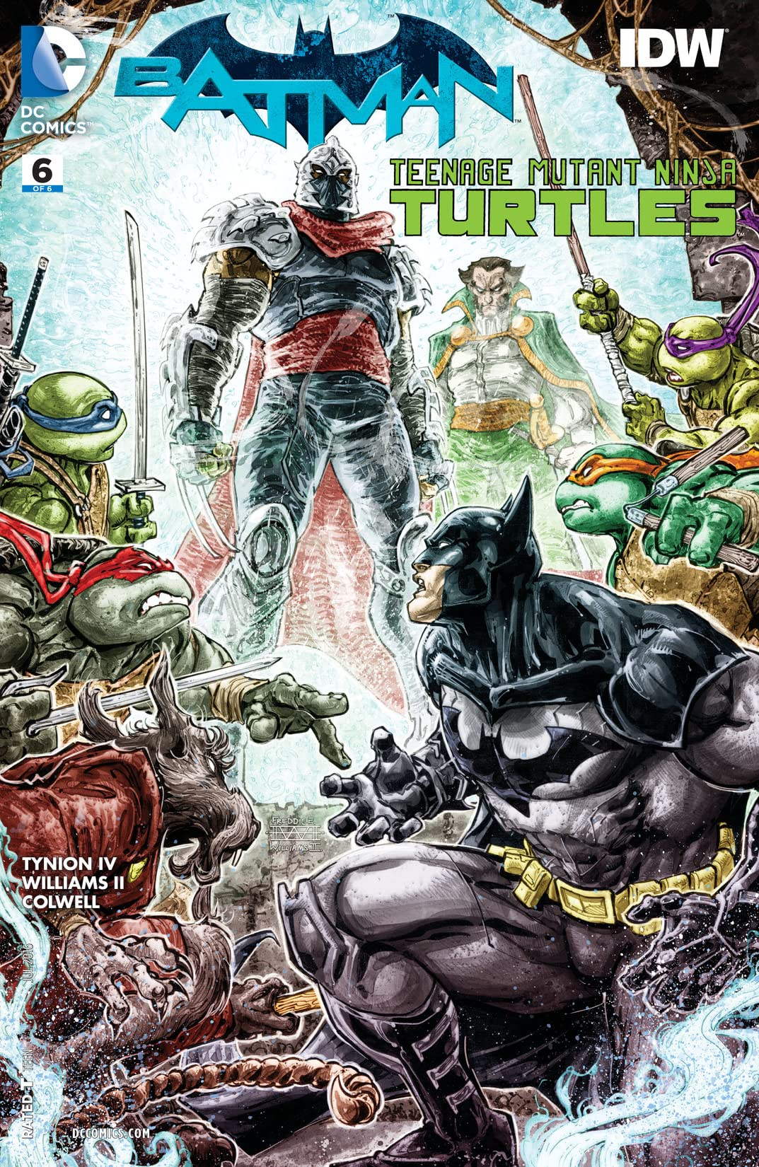 Batman/Teenage Mutant Ninja Turtles (2015-2016) #6