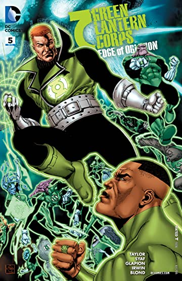 Green Lantern Corps: Edge of Oblivion (2016) #5