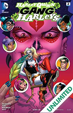 Harley Quinn and Her Gang of Harleys (2016) #2