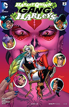 Harley Quinn and Her Gang of Harleys (2016) #2