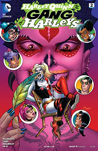 Harley Quinn and Her Gang of Harleys (2016) No.2