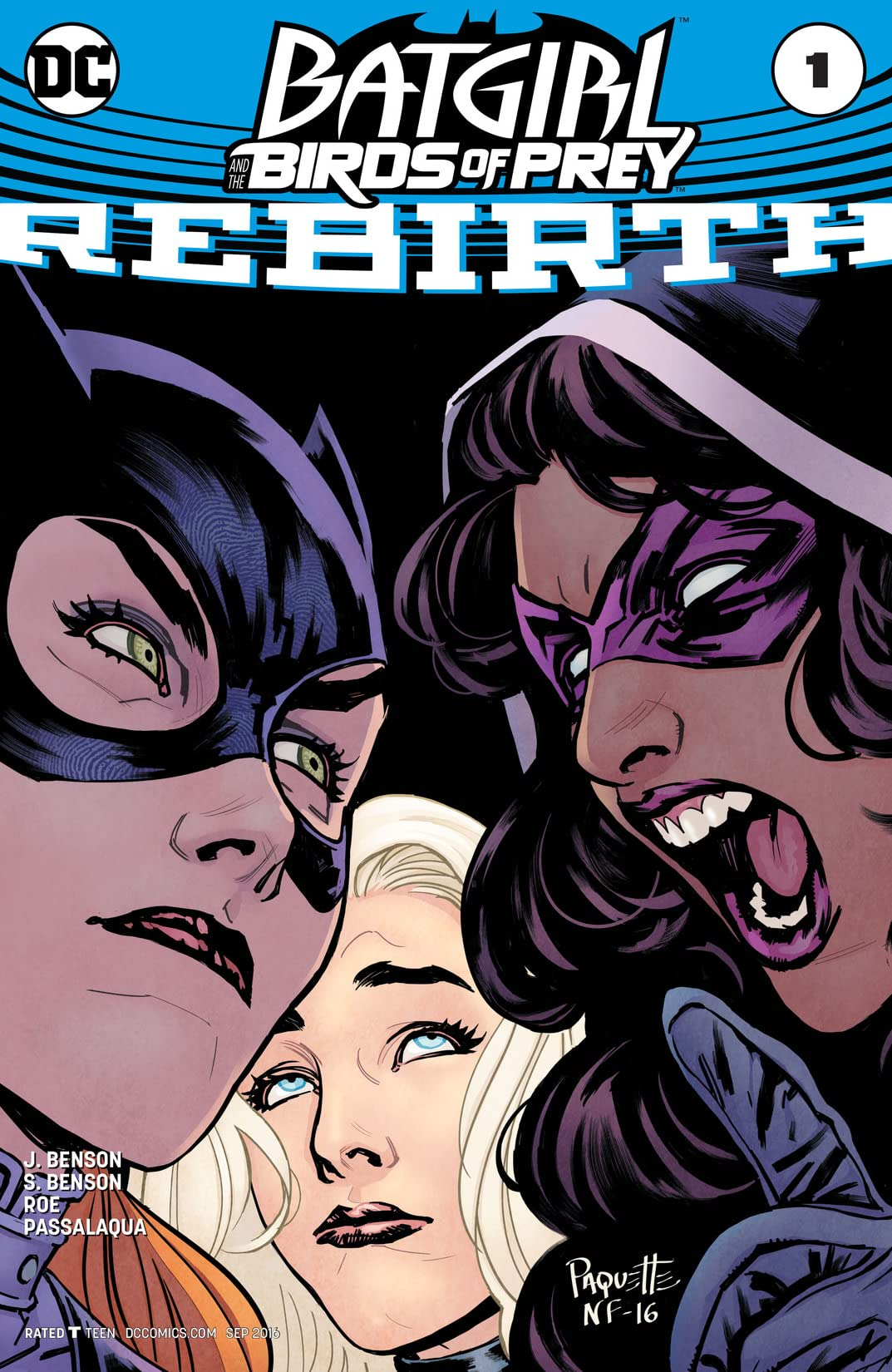 Batgirl and the Birds of Prey: Rebirth (2016) #1