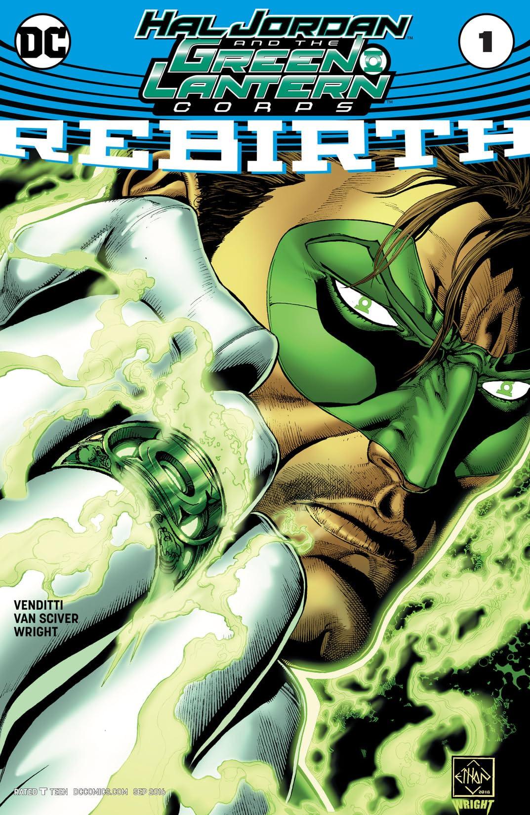 Hal Jordan and The Green Lantern Corps: Rebirth (2016) #1