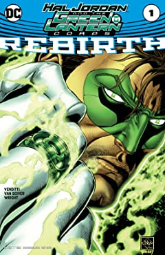 Hal Jordan and The Green Lantern Corps: Rebirth (2016) No.1
