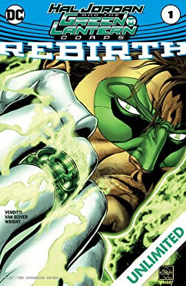 Hal Jordan and The Green Lantern Corps: Rebirth (2016) #1
