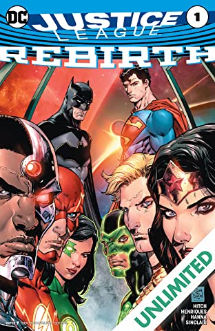 Justice League: Rebirth (2016) #1