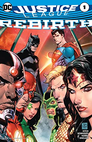 Justice League: Rebirth (2016) No.1