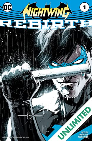 Nightwing: Rebirth (2016) #1