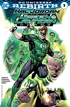 Hal Jordan and the Green Lantern Corps (2016-2018) No.1