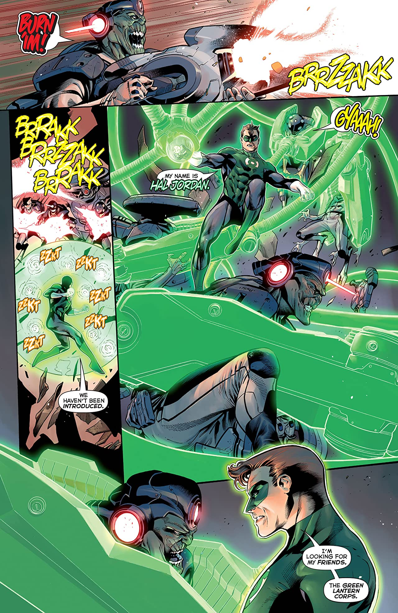 Hal Jordan and the Green Lantern Corps (2016-2018) #1
