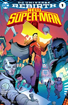 New Super-Man (2016-2018) No.1