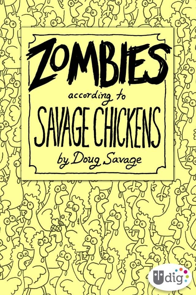 Zombies According to Savage Chickens