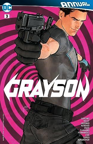 Grayson (2014-2016): Annual #3