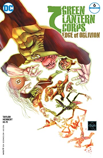Green Lantern Corps: Edge of Oblivion (2016) #6