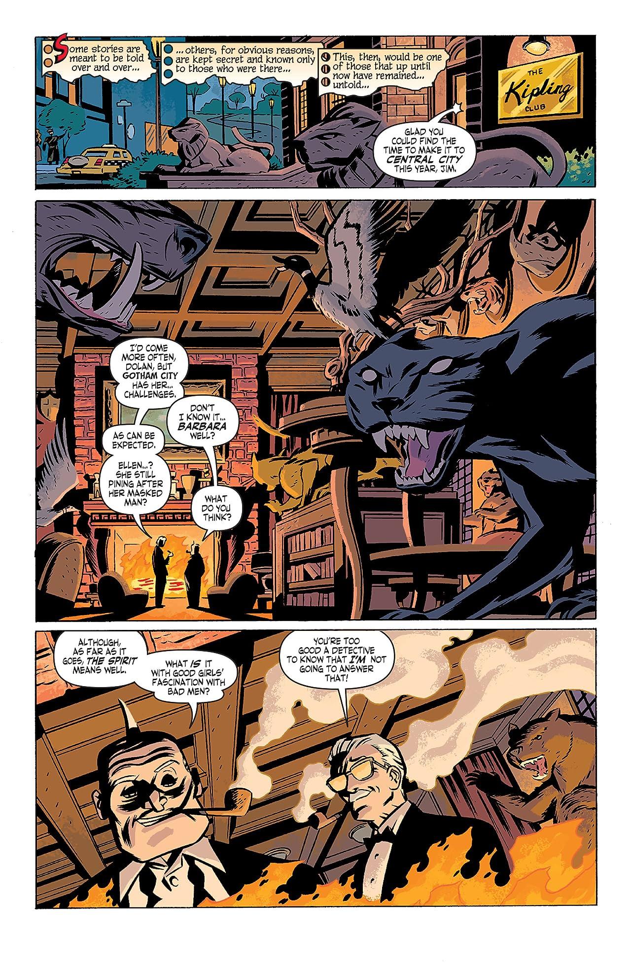 Batman/The Spirit (2007) #1