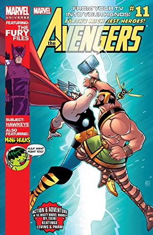 Marvel Universe Avengers: Earth's Mightiest Heroes (2012-2013) #11