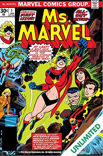 Ms. Marvel (1977-1979) #1