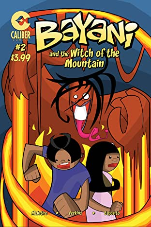 Bayani and the Witch of the Mountain No.2
