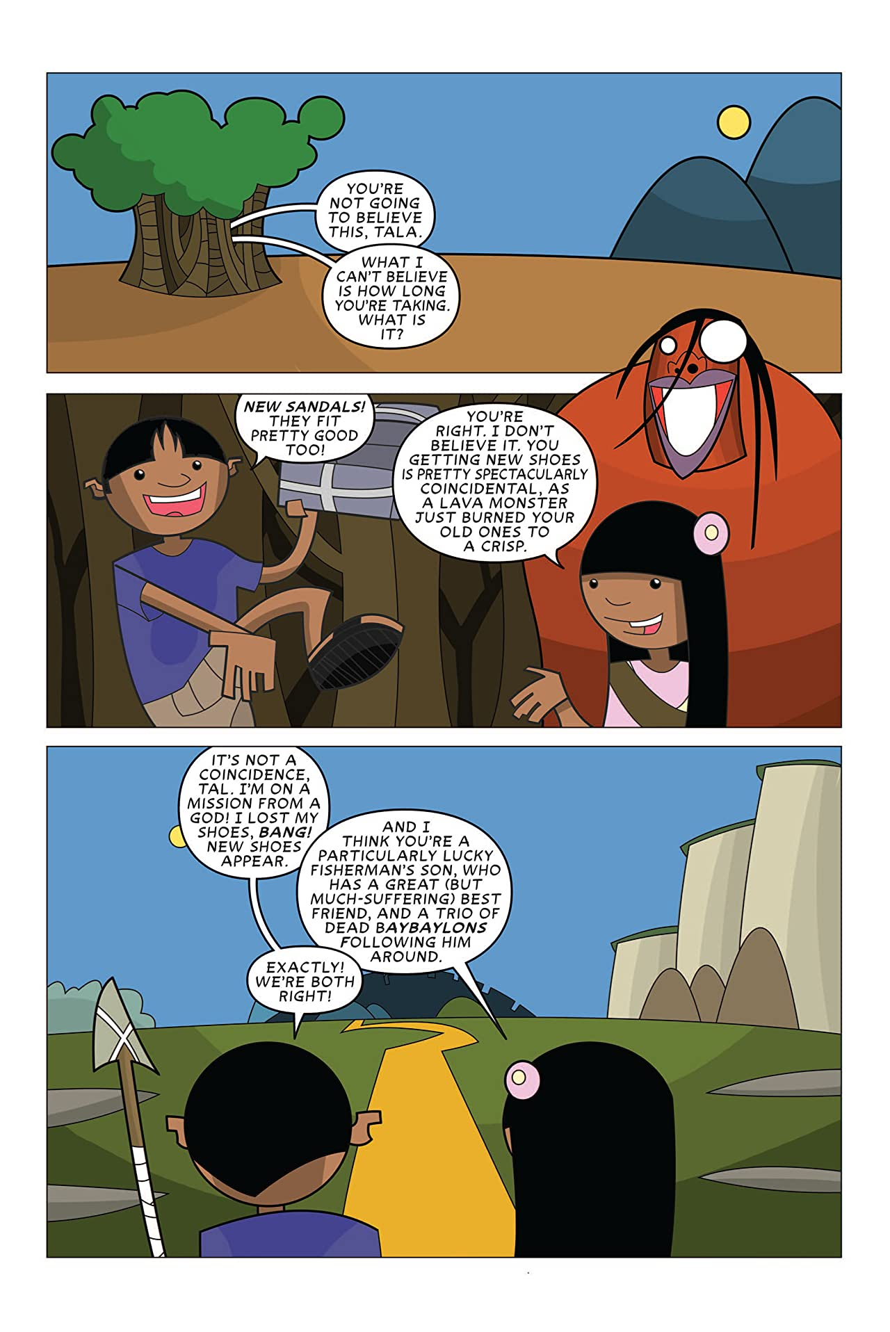 Bayani and the Dying City #3