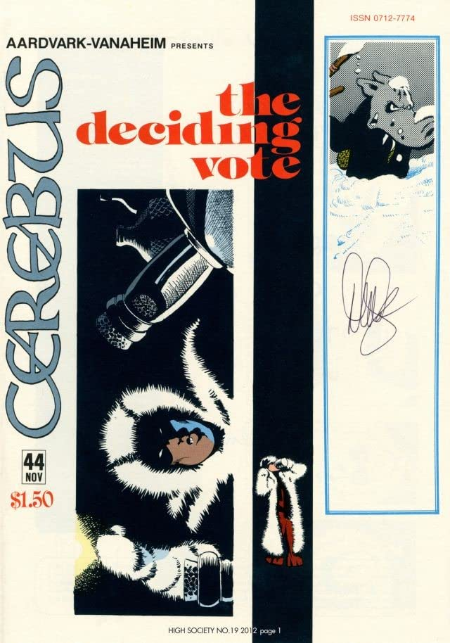 Cerebus Vol. 2 #19: High Society