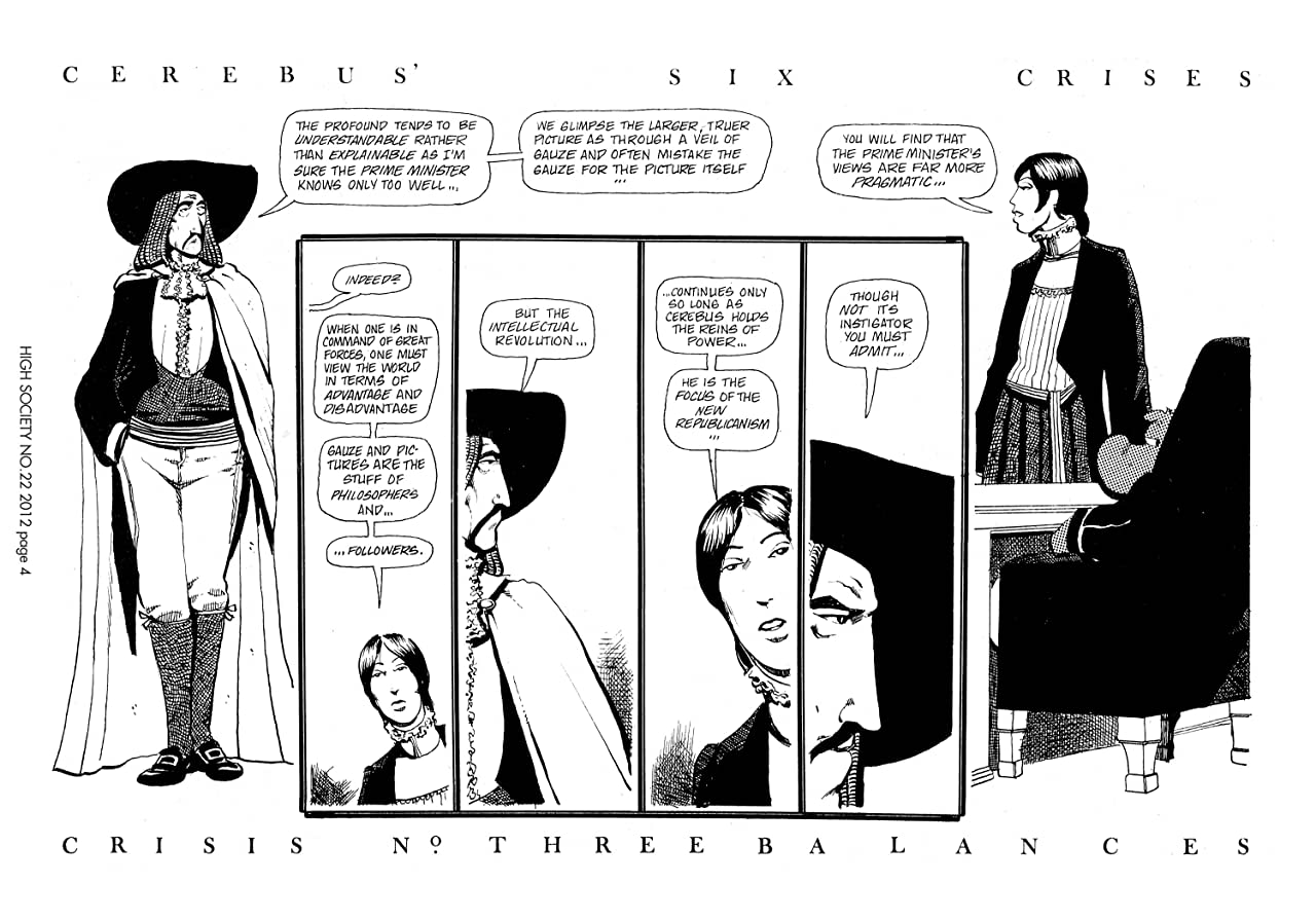Cerebus Vol. 2 #22: High Society