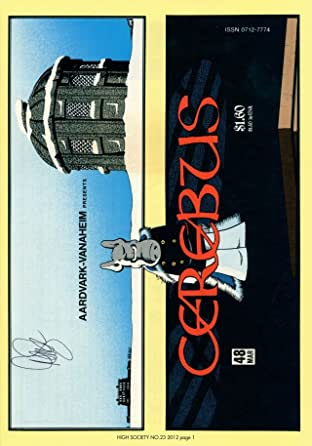 Cerebus Vol. 2 #23: High Society