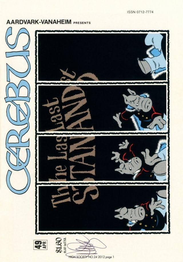Cerebus Vol. 2 #24: High Society