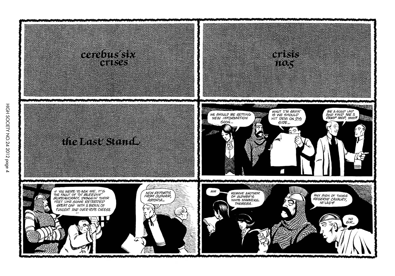 Cerebus Vol. 2 #24: High Society
