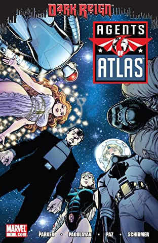 Agents of Atlas (2009) #1