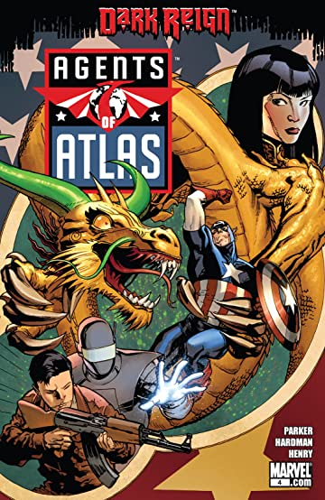 Agents of Atlas (2009) #4